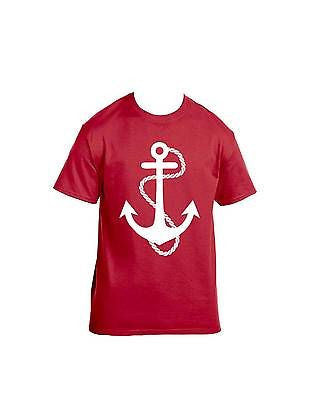 White Anchor T-Shirt - ALLNTRENDSHOP - 4