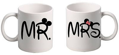 Couple Coffee Mugs MR and MRS Couple Gift Mugs - ALLNTRENDSHOP