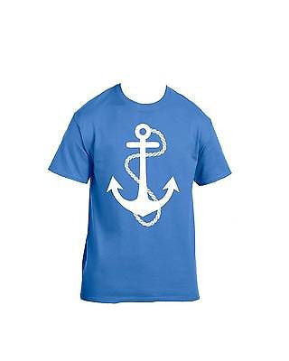 White Anchor T-Shirt - ALLNTRENDSHOP - 2
