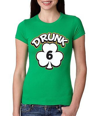 Irish Girl Drunk 1,2,3,4,5,6 Irish   Women's T-Shirt - ALLNTRENDSHOP - 6