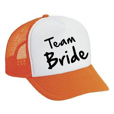 Team Bride Bachelorette party Dual color Trucker Cap - ALLNTRENDSHOP - 4