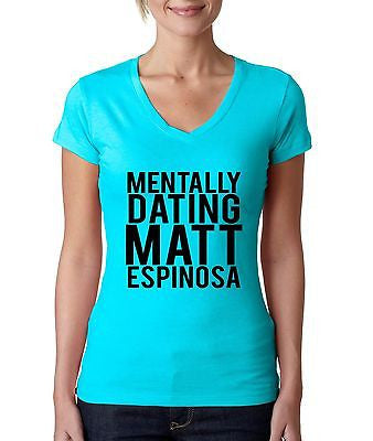 Mentally Dating Matt Espinosa Women's Sporty V Shirt - ALLNTRENDSHOP - 4