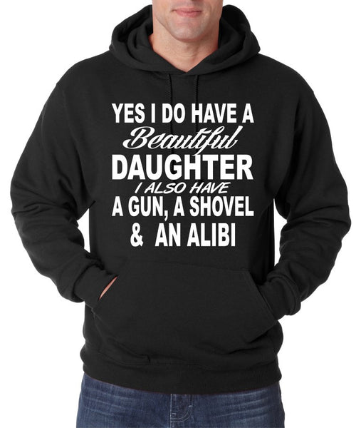 Yes I do have a beautiful daughter men Hoodies - ALLNTRENDSHOP - 4