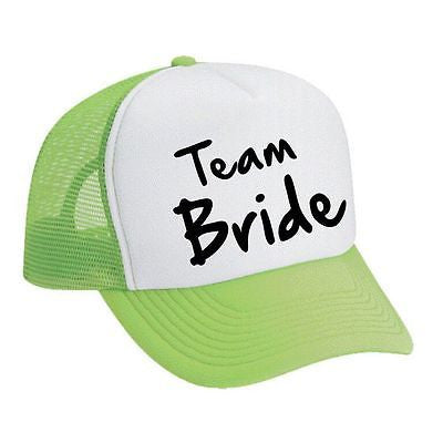 Team Bride Bachelorette party Dual color Trucker Cap - ALLNTRENDSHOP - 2