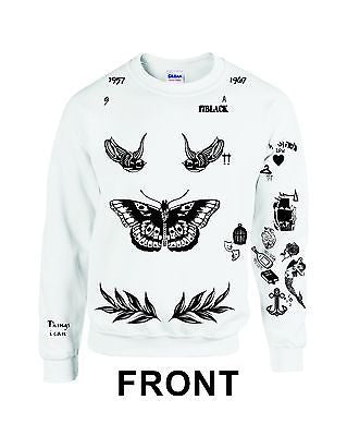 One Direction HARRY STYLES Tattoo 94 Sweatshirt - ALLNTRENDSHOP - 2