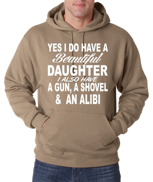 Yes I do have a beautiful daughter men Hoodies - ALLNTRENDSHOP - 1