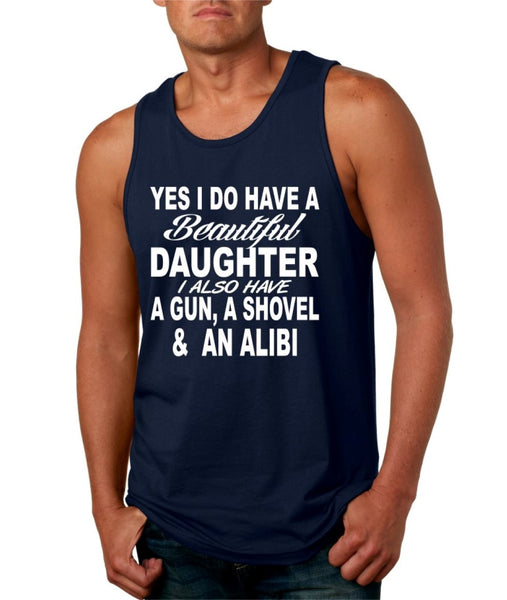 Yes I do have a beautiful daughter men jersey tank - ALLNTRENDSHOP - 3