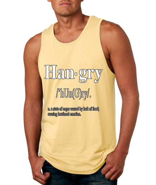 Hangry Men's Jersey Tank - ALLNTRENDSHOP