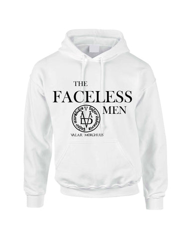 The Faceless Man Valar Morghulis valar dohaeris women hooded sweatshirt - ALLNTRENDSHOP - 1