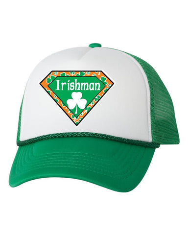 Irisman superman dual color trucker hat - ALLNTRENDSHOP