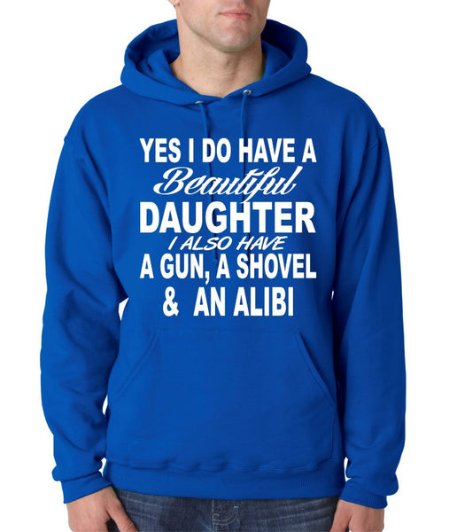 Yes I do have a beautiful daughter men Hoodies - ALLNTRENDSHOP - 5
