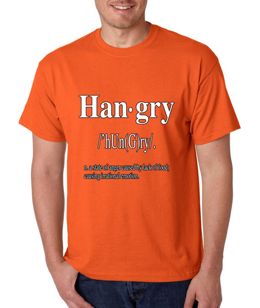 Hangry Men's T-shirt - ALLNTRENDSHOP