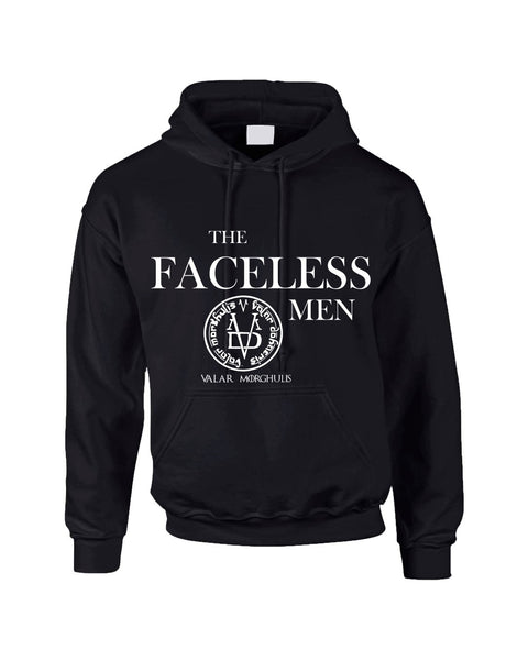 The Faceless Man Valar Morghulis valar dohaeris women hooded sweatshirt - ALLNTRENDSHOP - 3