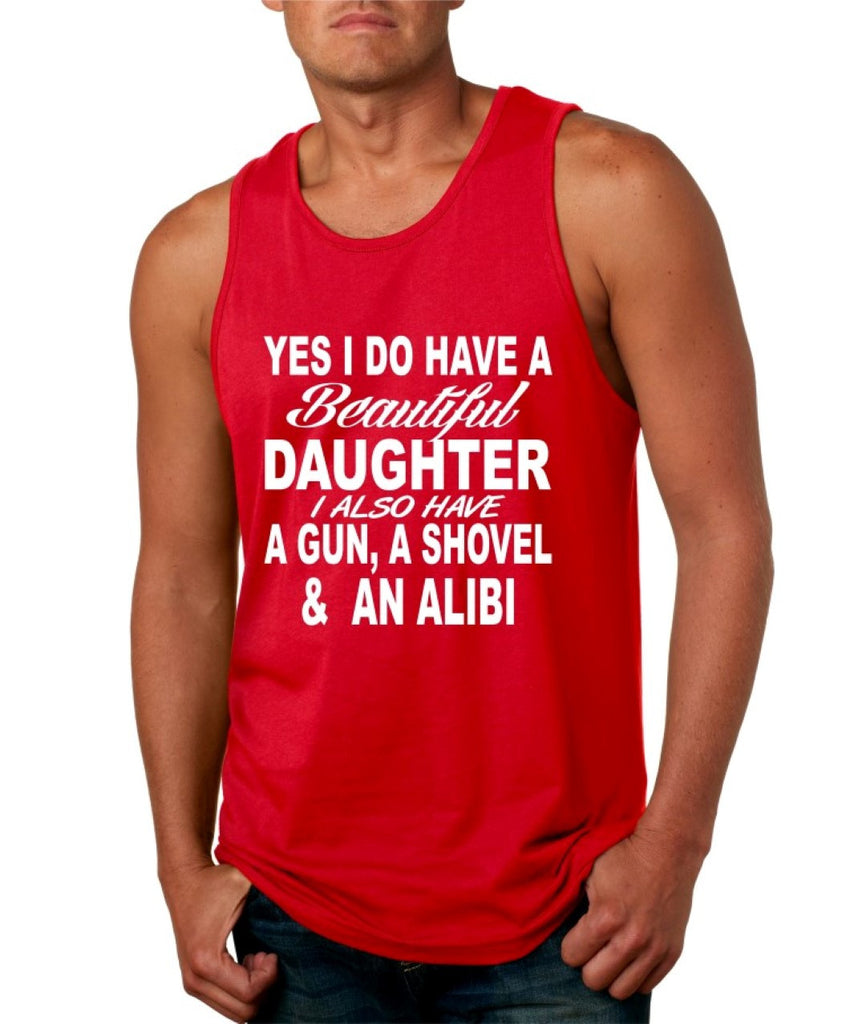 Yes I do have a beautiful daughter men jersey tank - ALLNTRENDSHOP - 1
