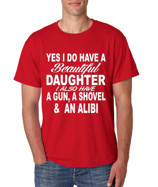 Yes I do have a beautiful daughter men T-shirt - ALLNTRENDSHOP - 4