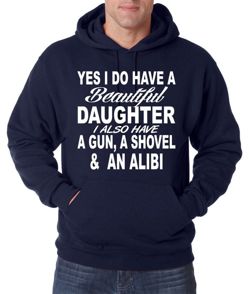 Yes I do have a beautiful daughter men Hoodies - ALLNTRENDSHOP - 2