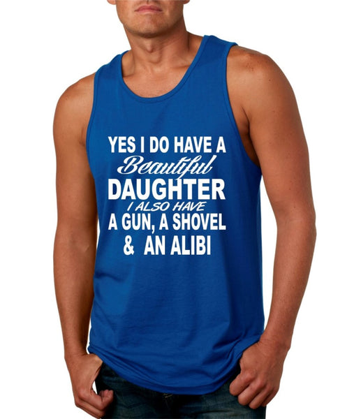 Yes I do have a beautiful daughter men jersey tank - ALLNTRENDSHOP - 4