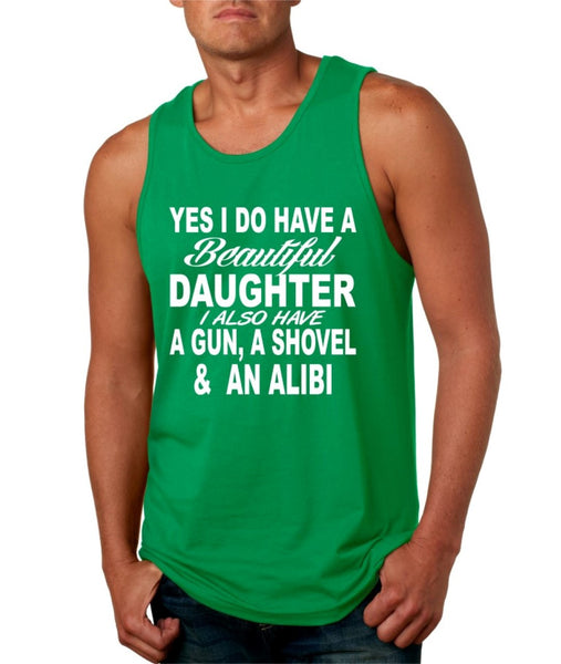 Yes I do have a beautiful daughter men jersey tank - ALLNTRENDSHOP - 5