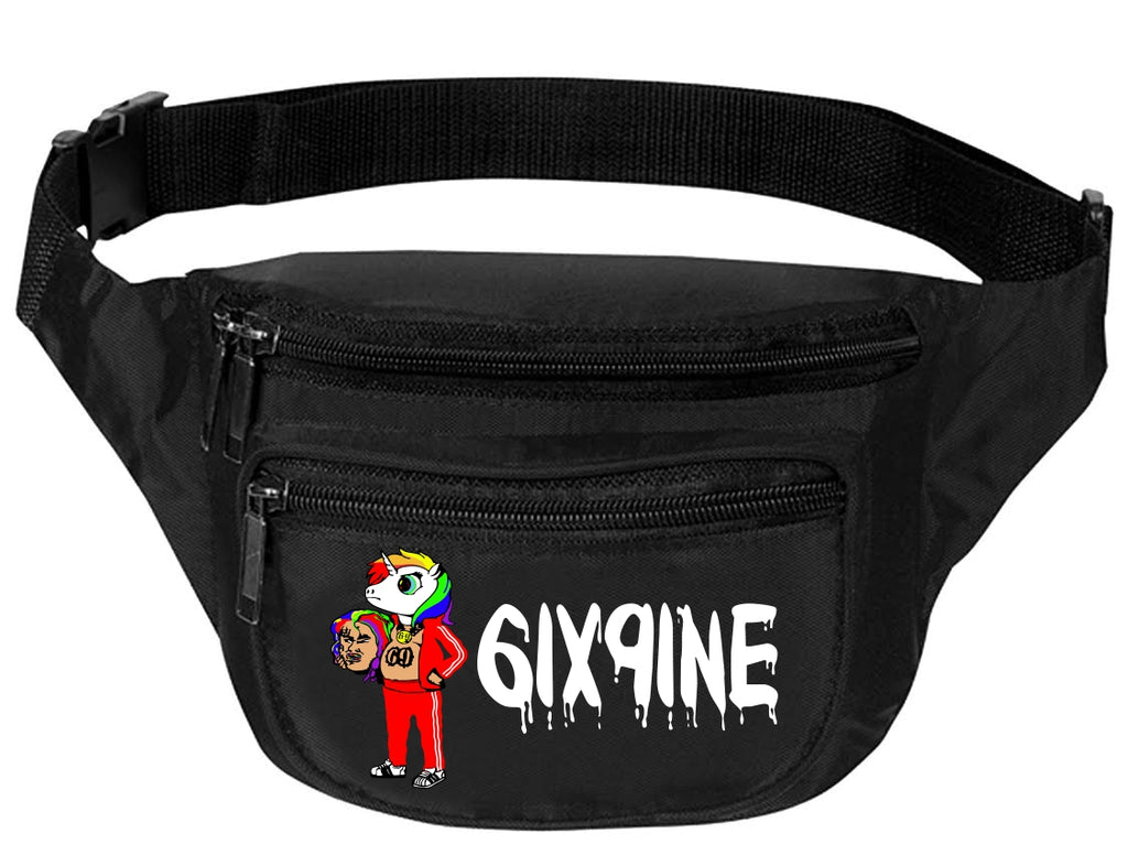 Adult Waist Pack 69 Unicorn 6ix9ine Trendy Sport Funny Pack Cool Gift