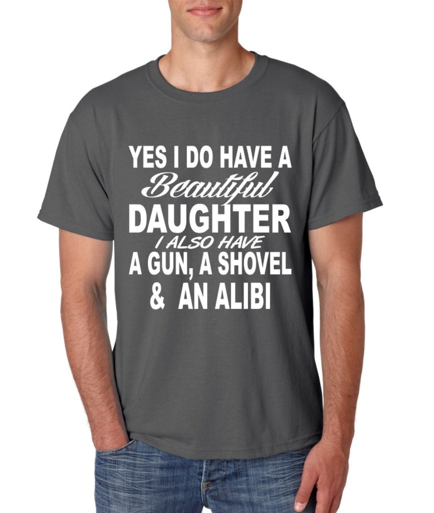 Yes I do have a beautiful daughter men T-shirt - ALLNTRENDSHOP - 1
