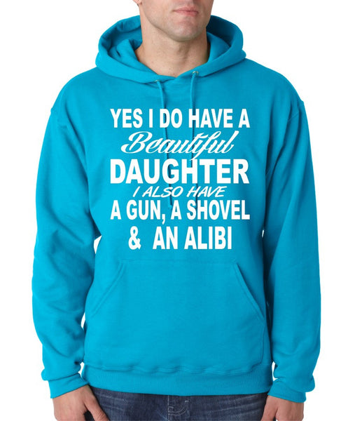 Yes I do have a beautiful daughter men Hoodies - ALLNTRENDSHOP - 3