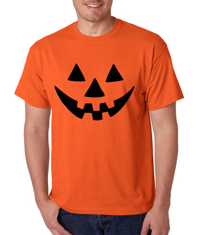 Jack O Lantern pumpkin Orange Men`s T shirt - ALLNTRENDSHOP