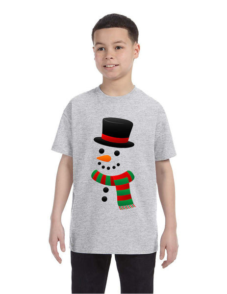 Kids T Shirt Snowman Ugly Christmas Xmas Gift Cool Holiday Top