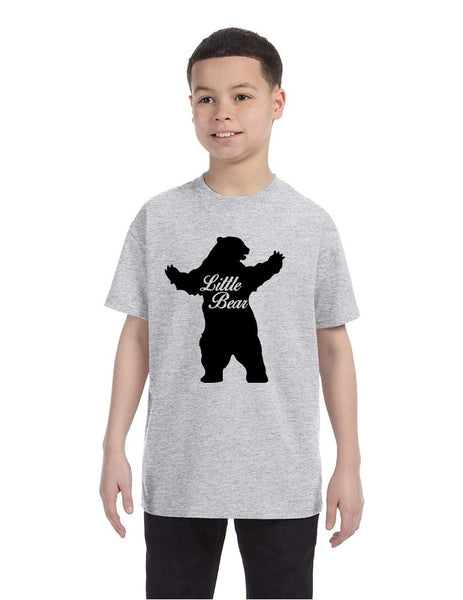 Kids T Shirt Little Bear Family Shirt Xmas Cute Holiday Gift - ALLNTRENDSHOP - 6