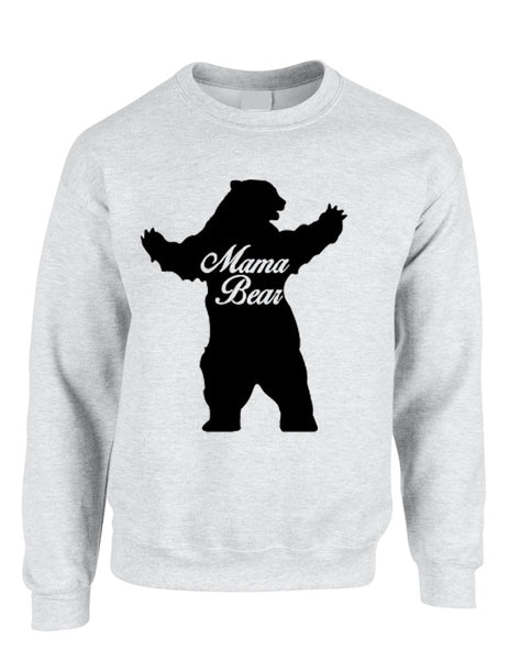 Adult Crewneck Mama Bear Family Top For Mom Xmas Cute Gift - ALLNTRENDSHOP - 7