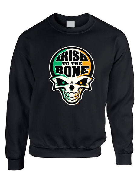 Irish To The Bone Skull women sweatshirt St Patrik - ALLNTRENDSHOP - 2