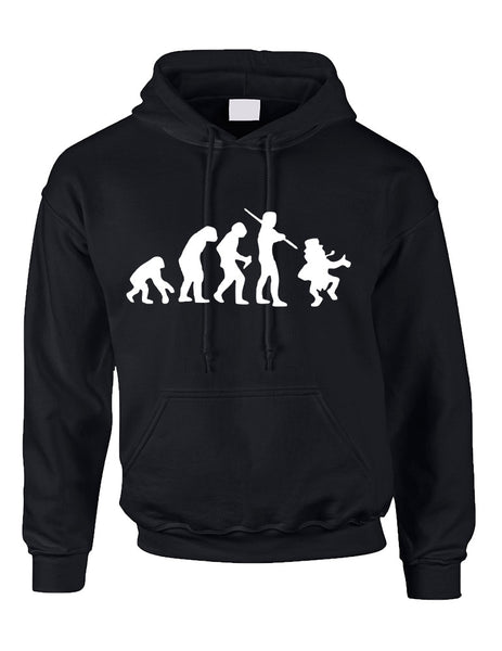 Adult Hoodie Irish Evolution Leprechaun St Patrick's Day Top - ALLNTRENDSHOP - 2