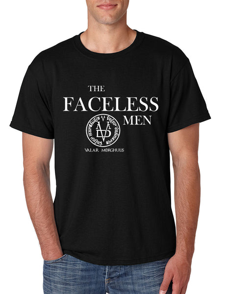 The Faceless Man Valar Morghulis valar dohaeris men t-shirt - ALLNTRENDSHOP - 1