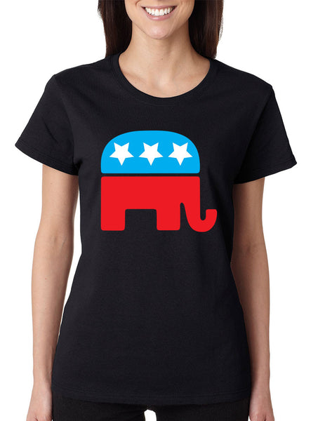 Republican party elephant elections Women t-shirt - ALLNTRENDSHOP - 3