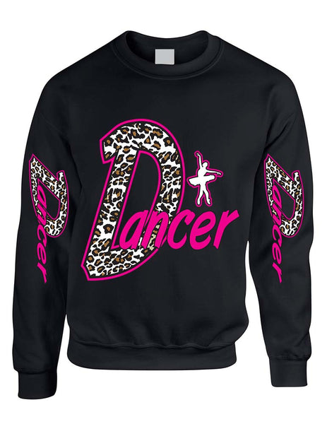 Dancer White Leopard women's sweatshirt - ALLNTRENDSHOP