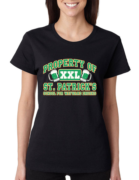PROPERTY OF St patrick women t-shirt - ALLNTRENDSHOP - 5