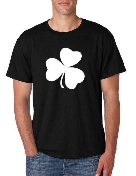 Men's T Shirt White Shamrock Graphic St Patrick's Day Party Tee - ALLNTRENDSHOP - 2