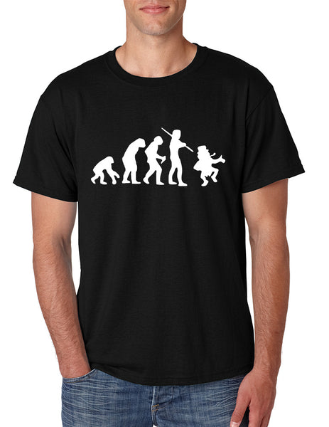 Men's T Shirt Irish Evolution Leprechaun St Patrick's Day Shirt - ALLNTRENDSHOP - 2