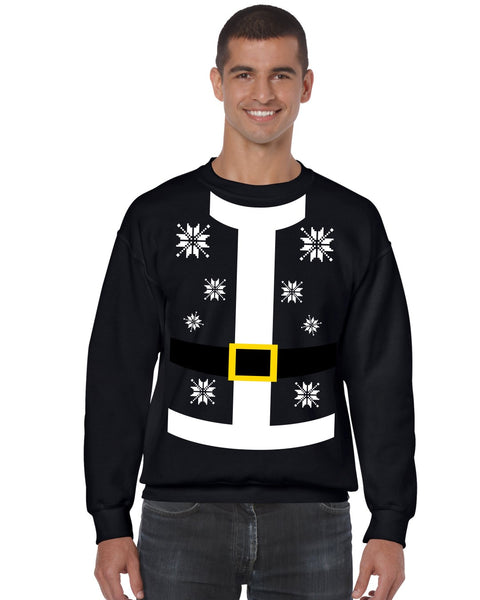 Santa suit Men's Sweatshirt - ALLNTRENDSHOP - 4