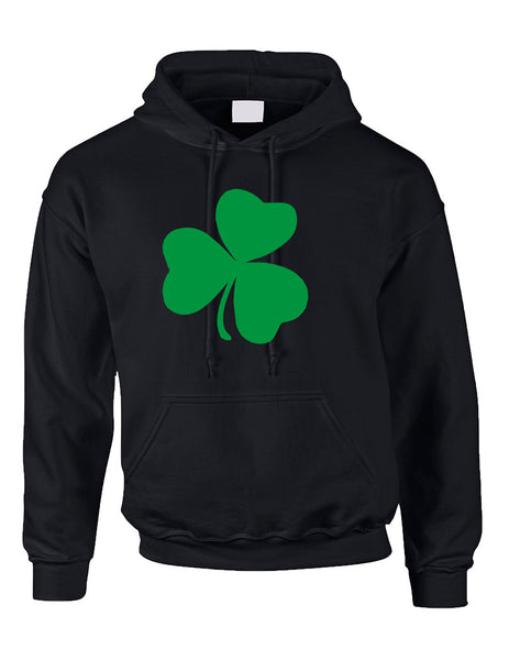 Adult Hoodie Green Shamrock Graphic St Patrick's Day Top - ALLNTRENDSHOP - 3