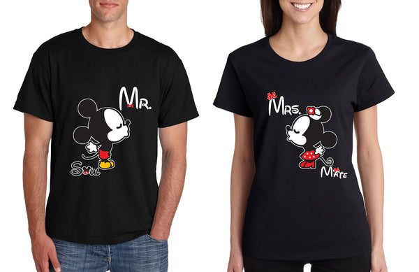 Mr soul Mrs mate kiss couples shirts Valentines day - ALLNTRENDSHOP - 4