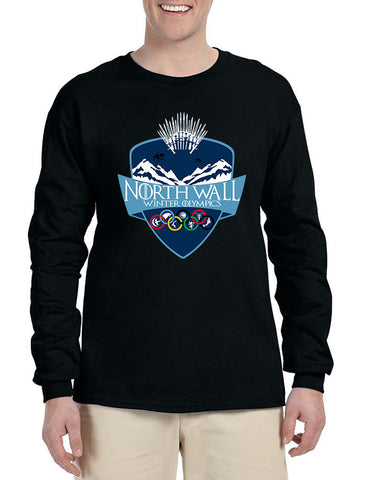 Men's Long Sleeve North Wall Winter Olympics Cool Shirt