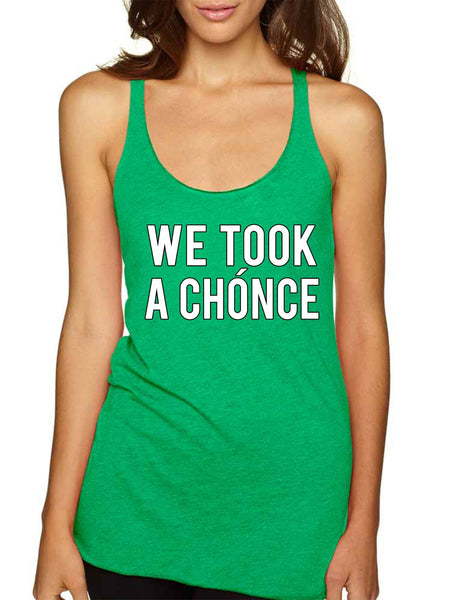 Niall Horan We took a chonce Women's Triblend Tanktop - ALLNTRENDSHOP - 1