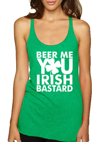 Women's Tank Top Beer Me You Irish St Patrick's Day Drunk