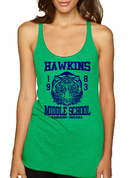 Women's Tank Top Hawkins Middle School 1983 - ALLNTRENDSHOP - 2