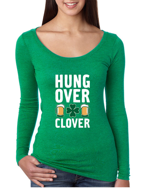 Women's Shirt Hungover Clover St Patrick's Day Party Shirt