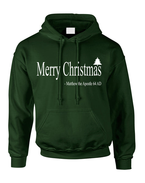 Adult Hoodie Matthew The Apostle Merry Christmas Gift Idea
