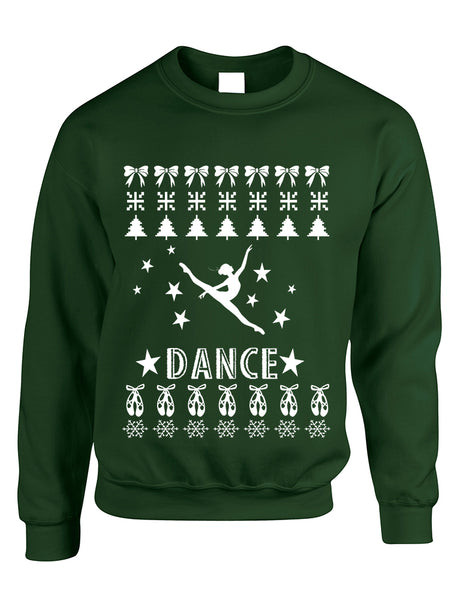 Adult Sweatshirt Dance Ugly Xmas Love Dancing Shirt Cute Gift