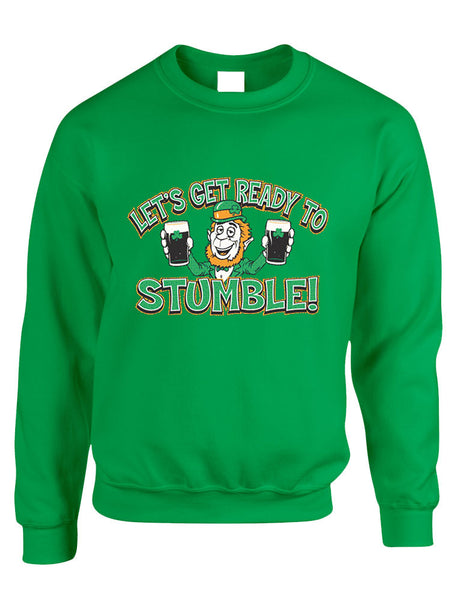 let`s get ready to stumble St patrick women sweatshirt - ALLNTRENDSHOP - 5