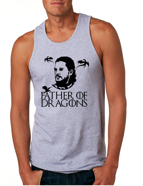 Men's Tank Top Father Of Dragons Cool Shirt Hot Gift