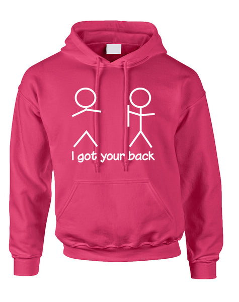 Adult Hoodie I Got Your Back Cool Funny Sarcasm Top
